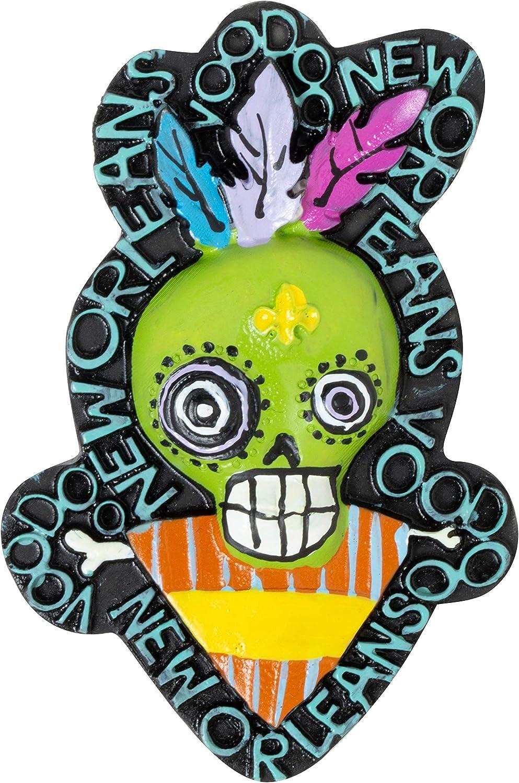 Voodoo Doll New Orleans Souvenir 3D Refrigerator Magnet