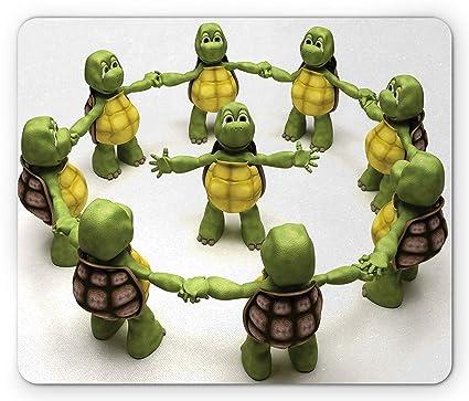 Alfombrilla para ratón Reptile de las Tortugas Ninja Dancing ...