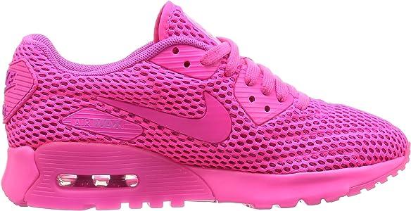 Nike W Air Max 90 Ultra Br, Scarpe Running Donna, Rosa, 36.5