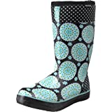 Bogs women 39 s mckenna leather rain boot rain for Bogs classic mid le jardin