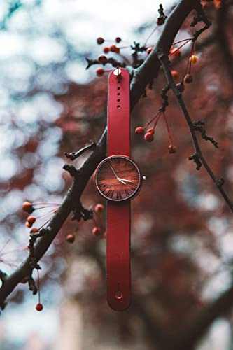 Red Wood Watch Almon