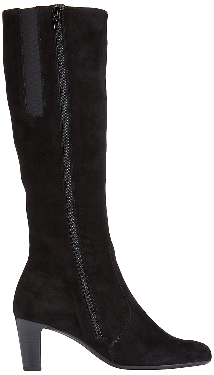 09eb17ad72c Gabor Womens Maybe Slim S Boots 95.668.17 Black Suede (Micro) 5 UK (39 EU)   Amazon.co.uk  Shoes   Bags