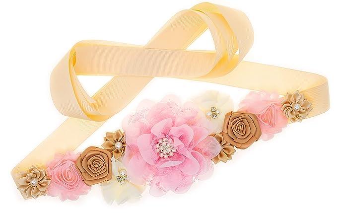 Amazon.com: Cinturón para el ombligo, color rosa claro y ...