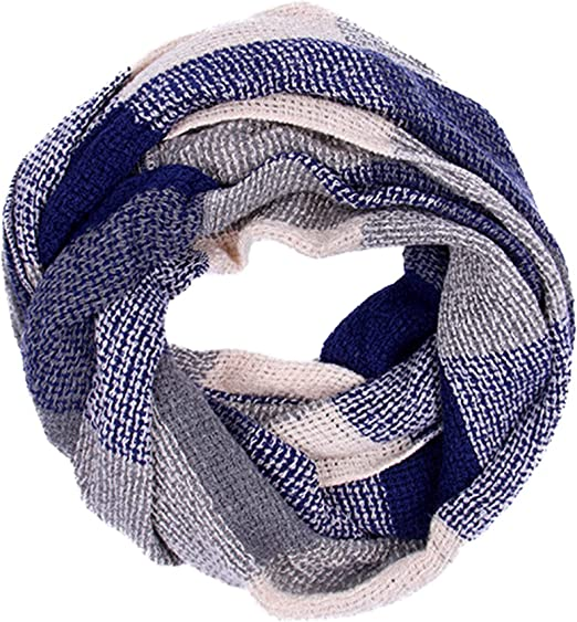 Heritage Traditions Womens Fashion Outdoor Summer Blue Grey Lightweight Snood
