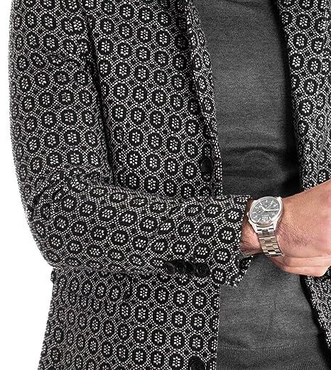 4358036351 Giosal Cappotto Uomo MOD Giacca Elegante Soprabito Giubbotto ...