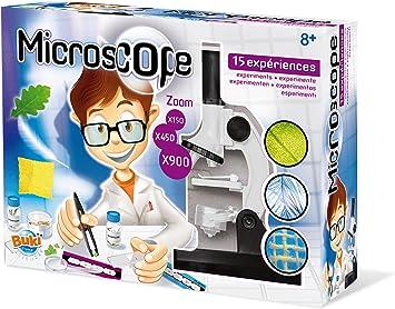 BUKI KT007EU - Microscopio 15 experimentos: Amazon.es: Juguetes y ...