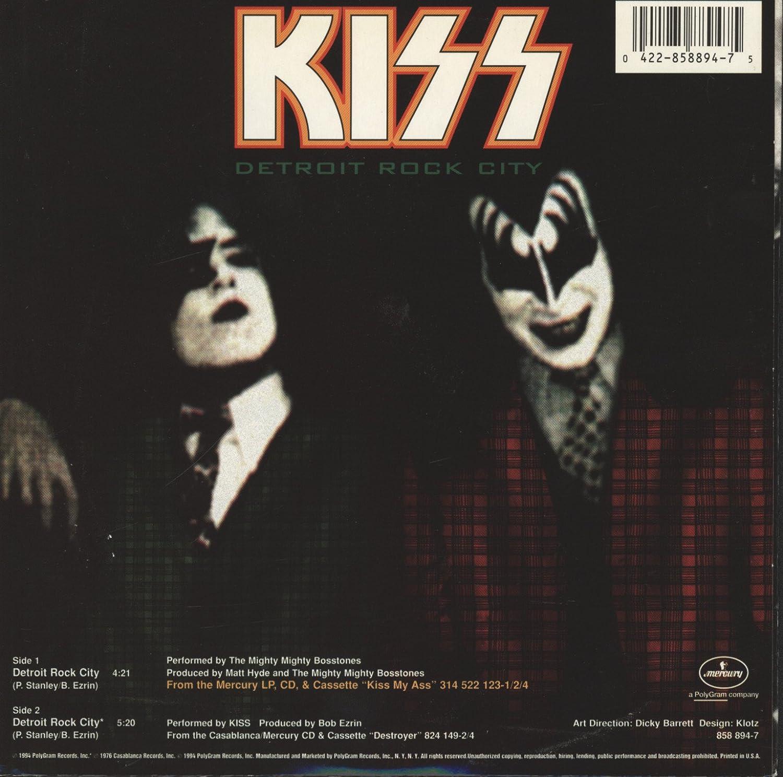 Kiss detroit rock city mp3 скачать