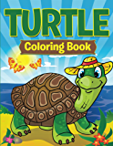 Turtle Coloring Book: Coloring Books for Kids