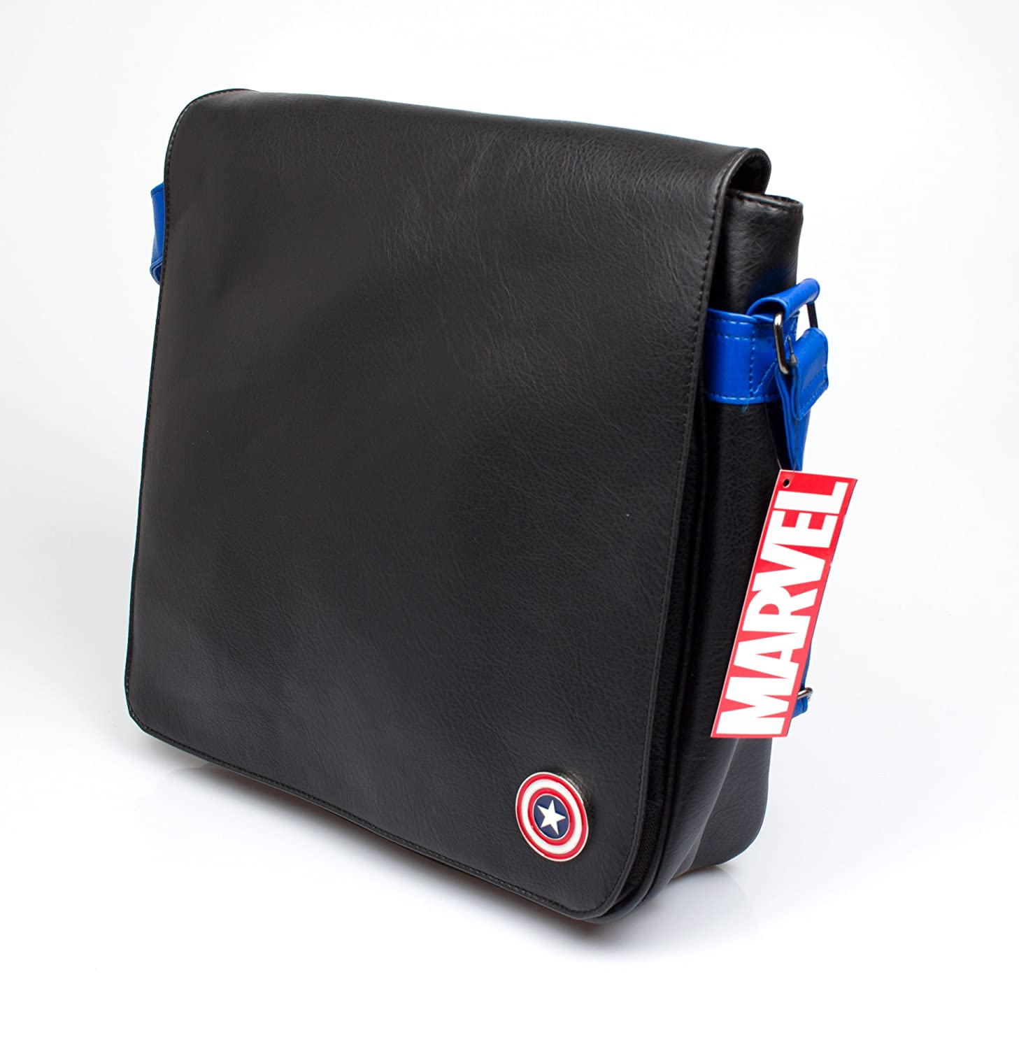 45 cm Alpa Marvel Captain America 12-Inch Vinyl Record Messenger Bag Black