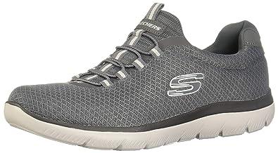 Skechers Summits Sneakers in Übergrößen Grau 52811 Char große Herrenschuhe
