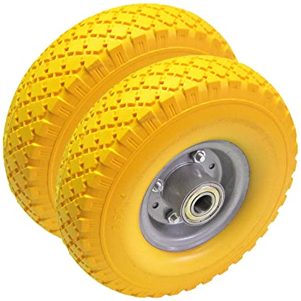 Rueda para carretilla con rodamiento de bolas HKB® - 2 uds, fabricado en PU