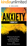 Anxiety: 5 books in 1 (Dealing with Anxiety, Anxiety Relief, Anxiety & the Brain, Anxiety & Phobia, Anxiety & Depression) (All About Anxiety Book 8)