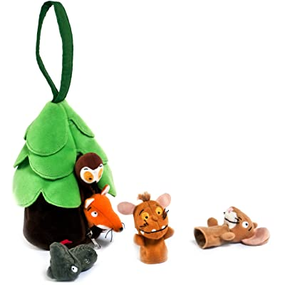 Aurora The Gruffalo's Child 12972 Finger Puppets - Multicolour: Toys & Games