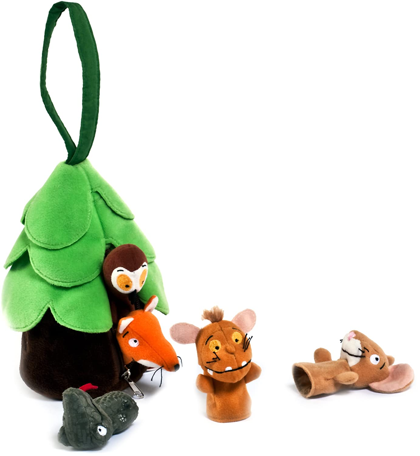 The Gruffalo's Child 12972 Finger Puppets - Multicolour Aurora World LTD
