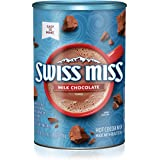 Swiss Miss Cocoa Milk Chocolate Canister, 45.68 Ounce (Pack of 6)