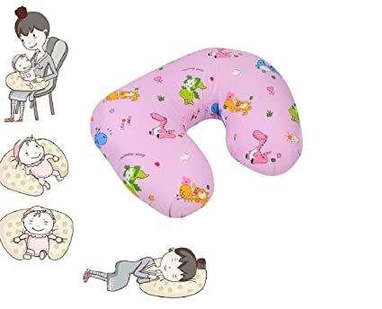 54957d8bbf3 Baby Grow Nursing Pillow with Slipcover Cotton Feeding Pillow and  Positioner with Baby Printed Slipcover Baby