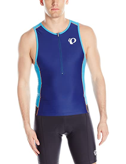 Amazon.com  Pearl iZUMi Men s Elite Pursuit Tri Singlet  Sports ... 59bd598c5