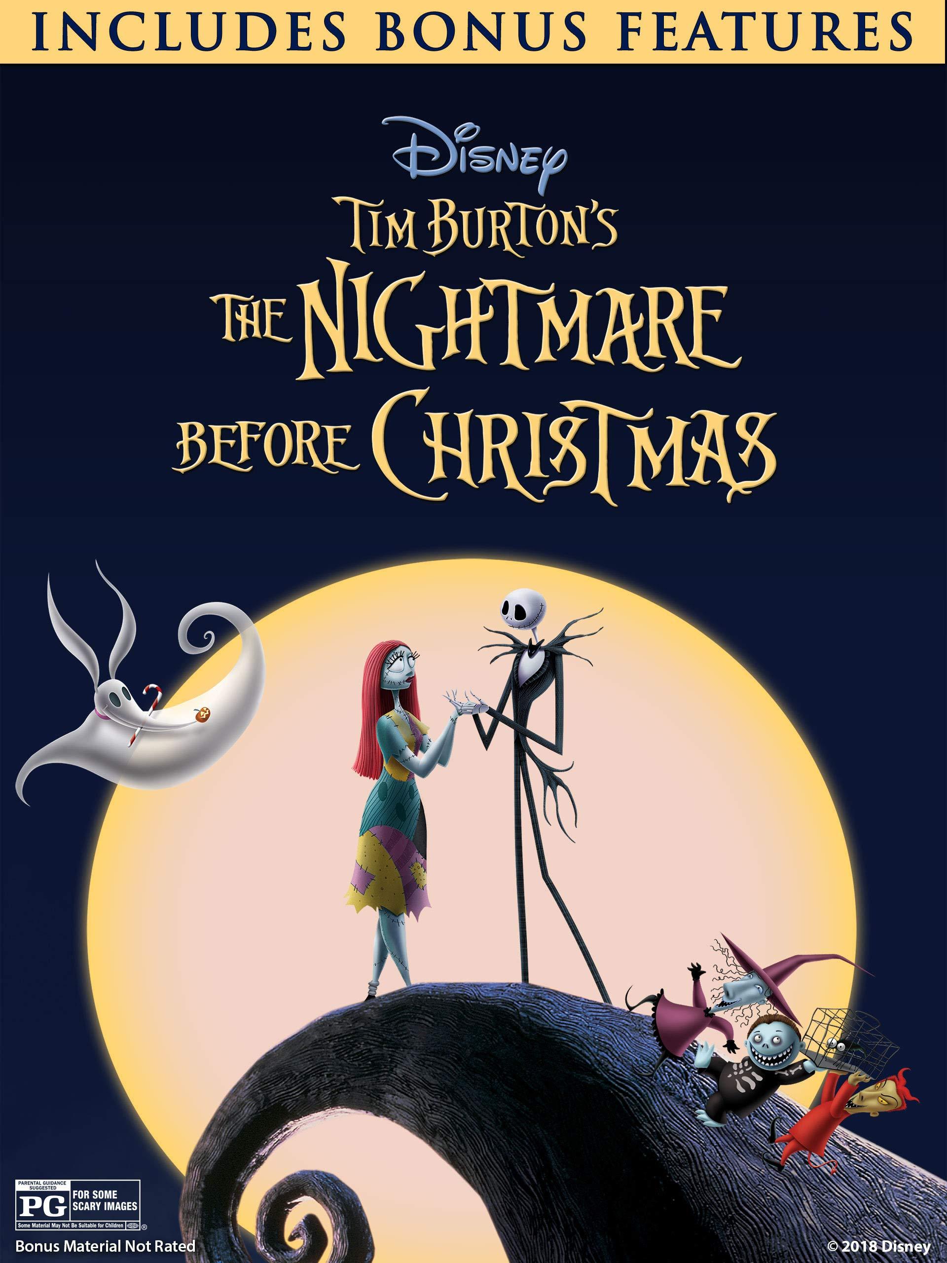 Amazon Com Watch The Nightmare Before Christmas Plus Bonus