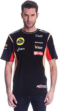 Lotus Camiseta Grosjean 2014.