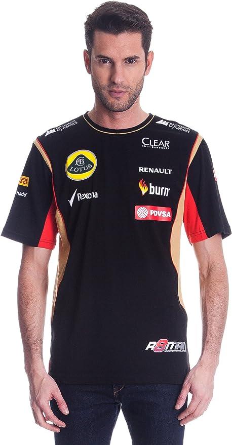 Lotus 2014 - Camiseta de Grosjean: Amazon.es: Ropa y accesorios