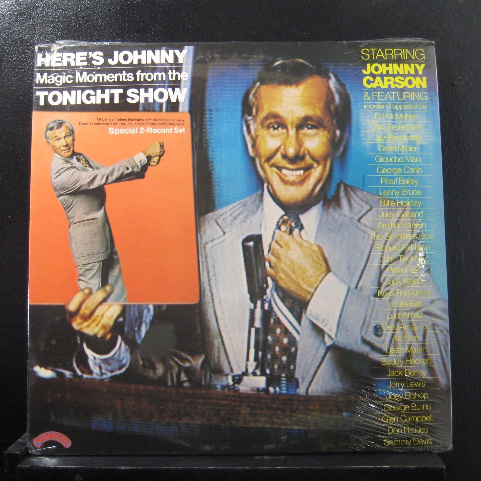Vinilo : JOHNNY CARSON - Here's Johnny-magic Moments Tonight Show (original Soundtrack) (2PC)