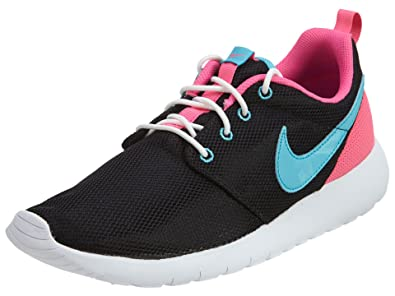 4a3a5cae6b3 Nike Youth Roshe One (Black Gamma Blue Pink Blast)(7 M