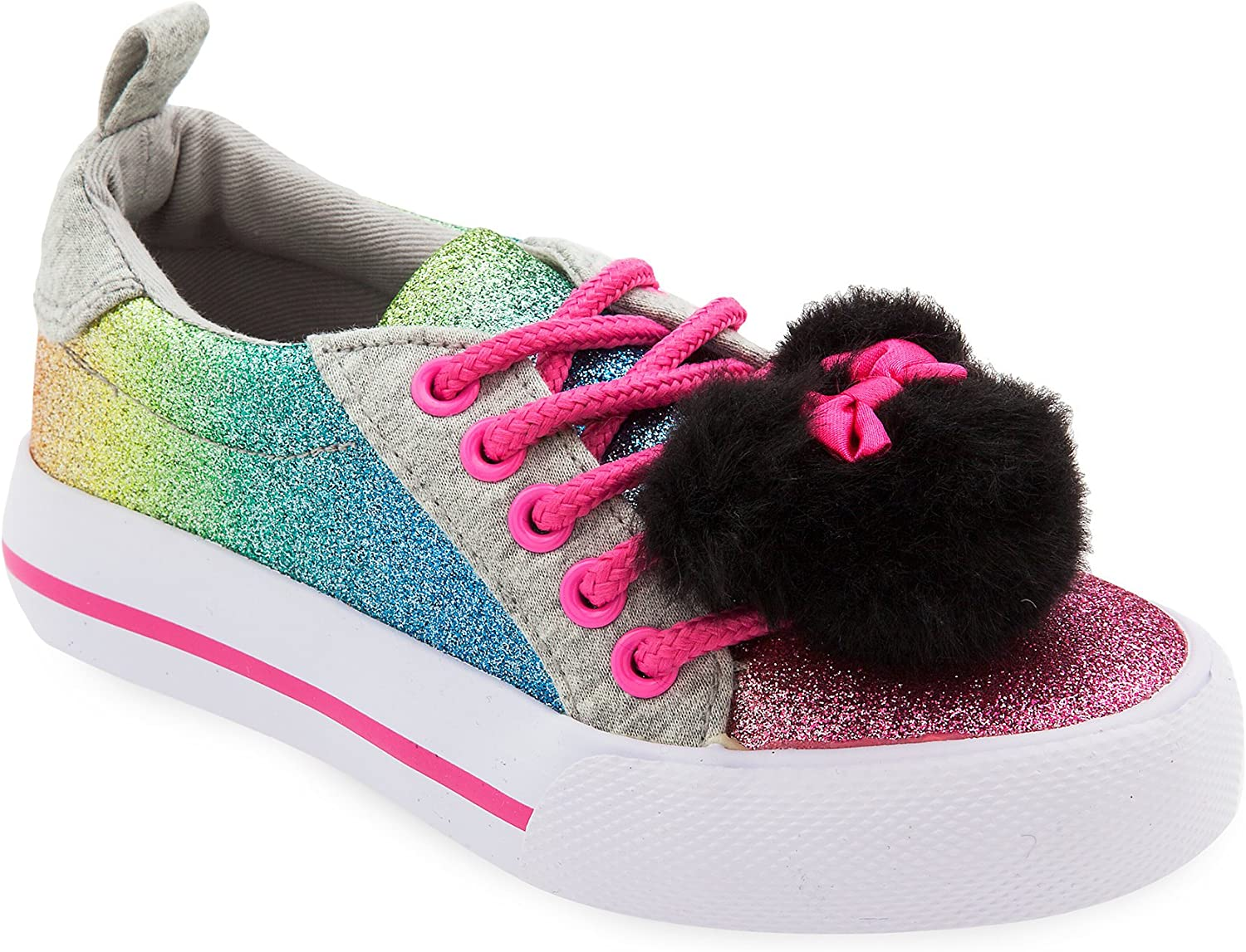Disney Minnie Mouse Rainbow Sneakers for Girls Multi