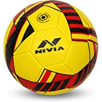 NIVIA - - Step Out & Play Blade Machine Stitched Football (Yellow)