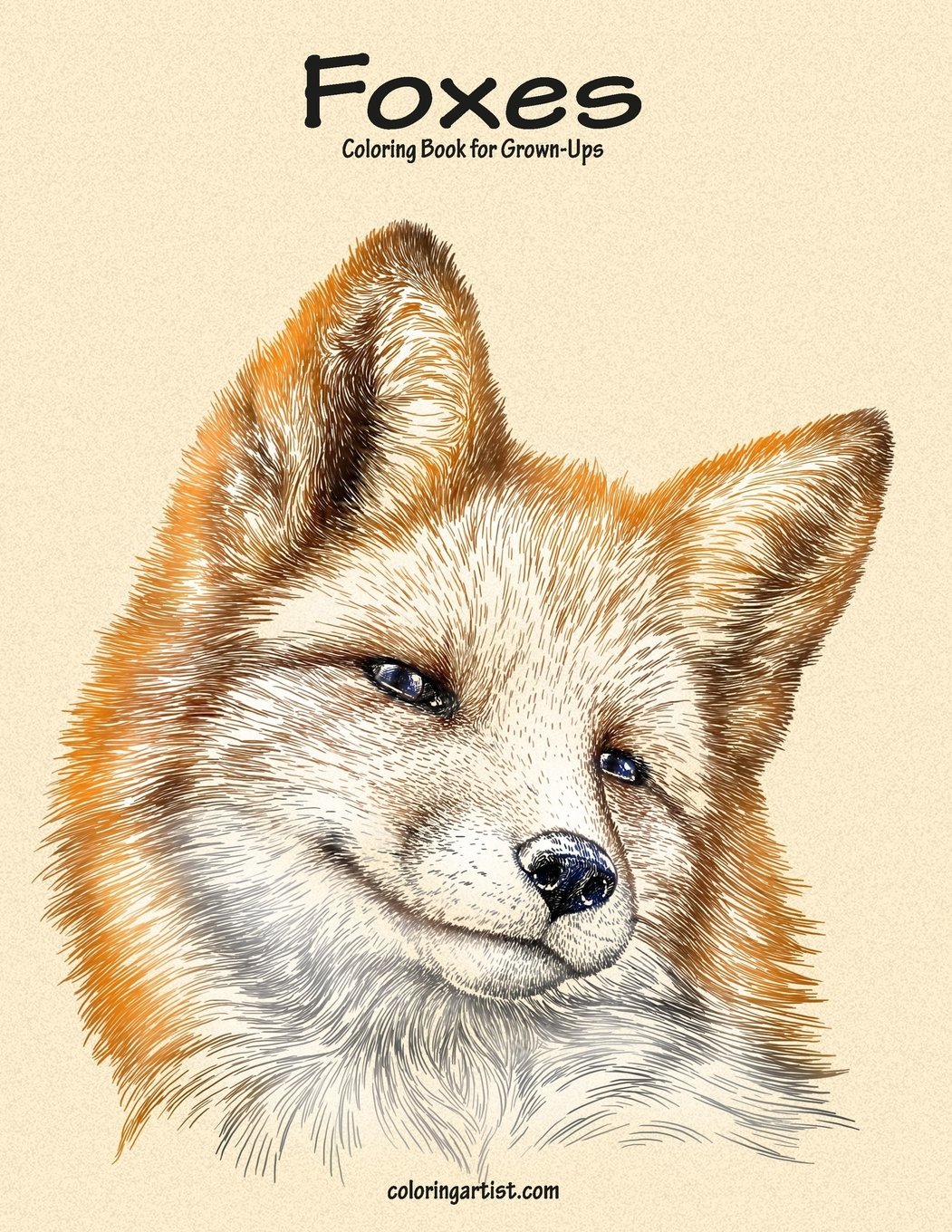 Download Foxes Coloring Book for Grown-Ups 1 (Volume 1) ebook