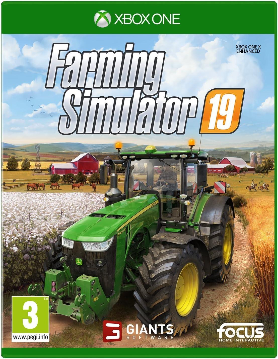 Farming Simulator 19 - Xbox One [Importación inglesa]: Amazon.es ...