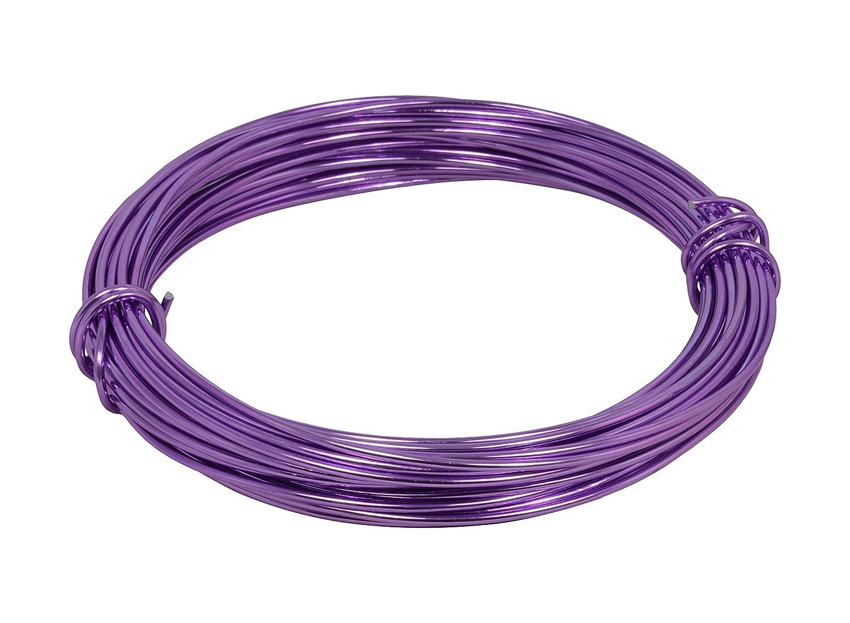 Corderie Italiane 006039969 Filo Alluminio, Lavanda, 2 mm, 12 m Filtrex srl