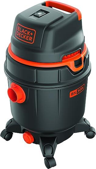 Black+Decker 51686 Aspiradora, 1600 W, con depósito 30 litros ...