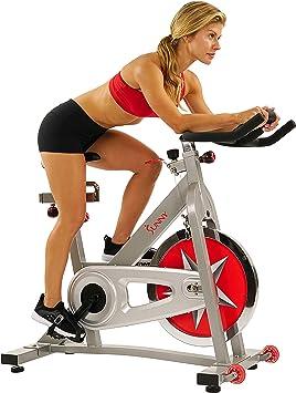 SUNNY salud y Fitness Pro Bicicleta Estática Bicicleta ...