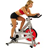 Sunny Health & Fitness Indoor Cycling Bike with 40 LB Flywheel and Dual Felt Resistance - Pro/Pro II