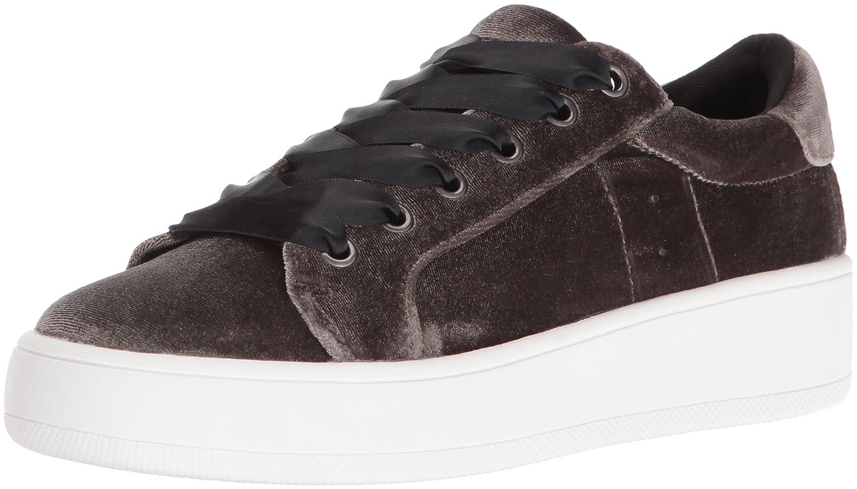 Steve Madden Women's Bertie Fashion Sneaker B01KK00V3K 7 B(M) US|Taupe Velvet