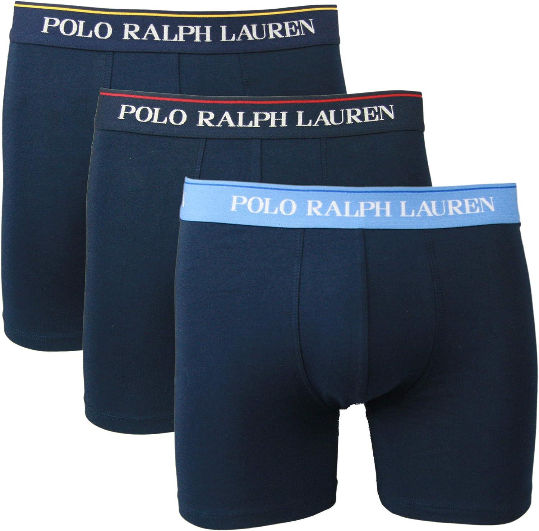 Polo Ralph Lauren Boxer - Calzoncillos slipboxer (3 unidades) azul ...