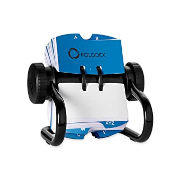 Rolodex Business Card Tray Black Large Amazoncouk Office Products