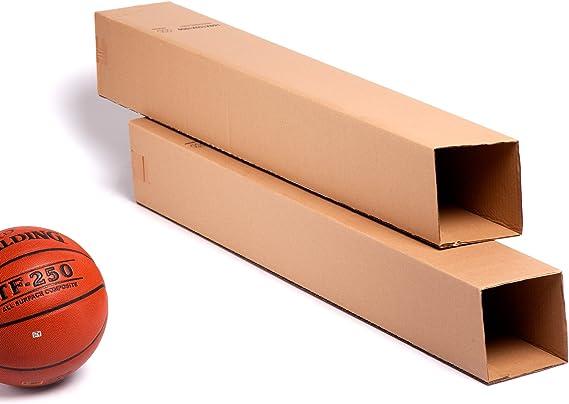 4x) Cajas Altas Largas para Tubos altos de cartón | Lote de 4 ...