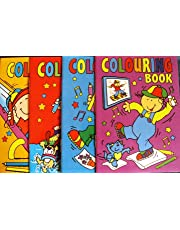 20 Mini A6 Colouring Books Party Bag Filler PTY (MULTI, 2)