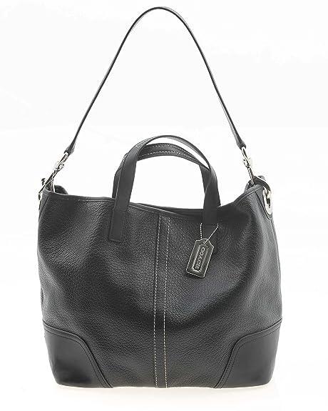 02d9c46d83 Coach Hadley Leather Duffle Bag - Black  Amazon.ca  Shoes   Handbags