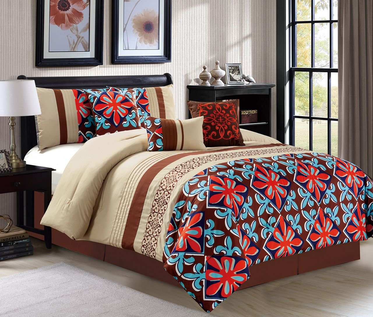 with unbelievable patchwork photos large king quatrefoil cheap white astonishing stardust twin duvet single bedding gold cover orange concept burnt brown bag inspiring of queen comforter size sets files black image to u trellis in sale unicorn set and curtain matching bright inspiration curtains