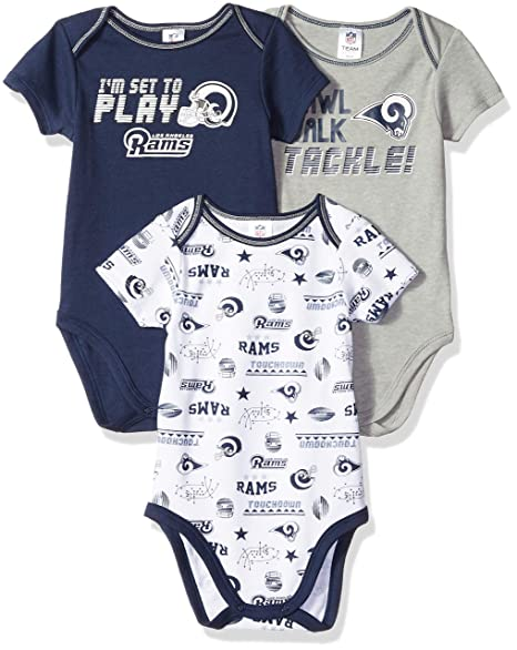 d841e024 Amazon.com : NFL Los Angeles Rams Male 3 Pack Short sleeve Variety ...