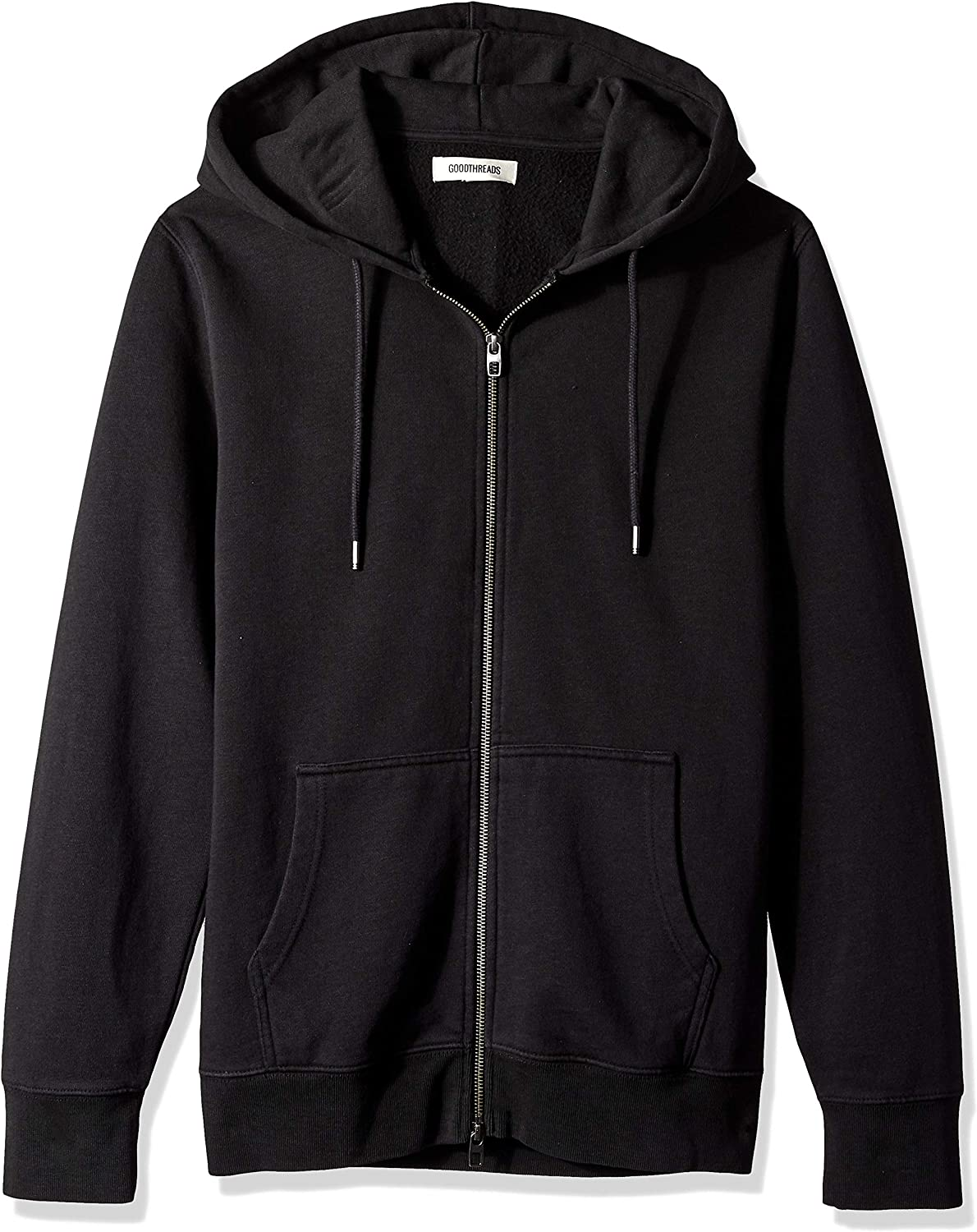 Brand - Goodthreads Men's Fullzip Fleece Hoodie: Clothing