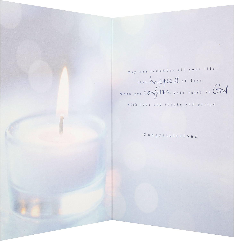 Hallmark 25467648 MediumLove Thanks and Praise Confirmation Card