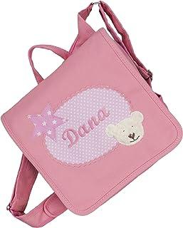 crepes suzette Kindergartentasche, Kindergartenrucksack, Tasche mit Namen, Kindergartentasche mit Namen, Namenstasche, Kindertasche mit Bär, Kindergartentasche mit Bär