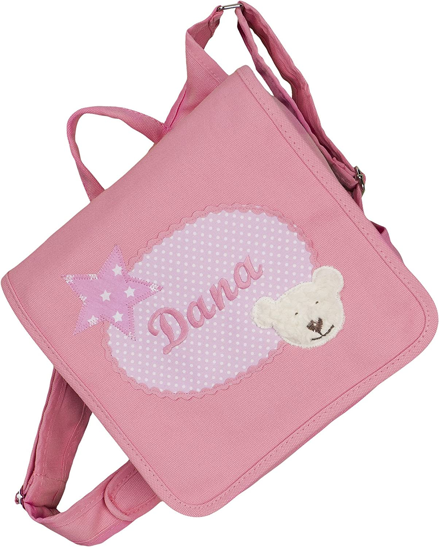 crepes suzette Kindergartentasche, Kindergartenrucksack, Tasche mit Namen, Kindergartentasche mit Namen, Namenstasche, Kindertasche mit Bär, Kindergartentasche mit Bär Kindertasche mit Bär