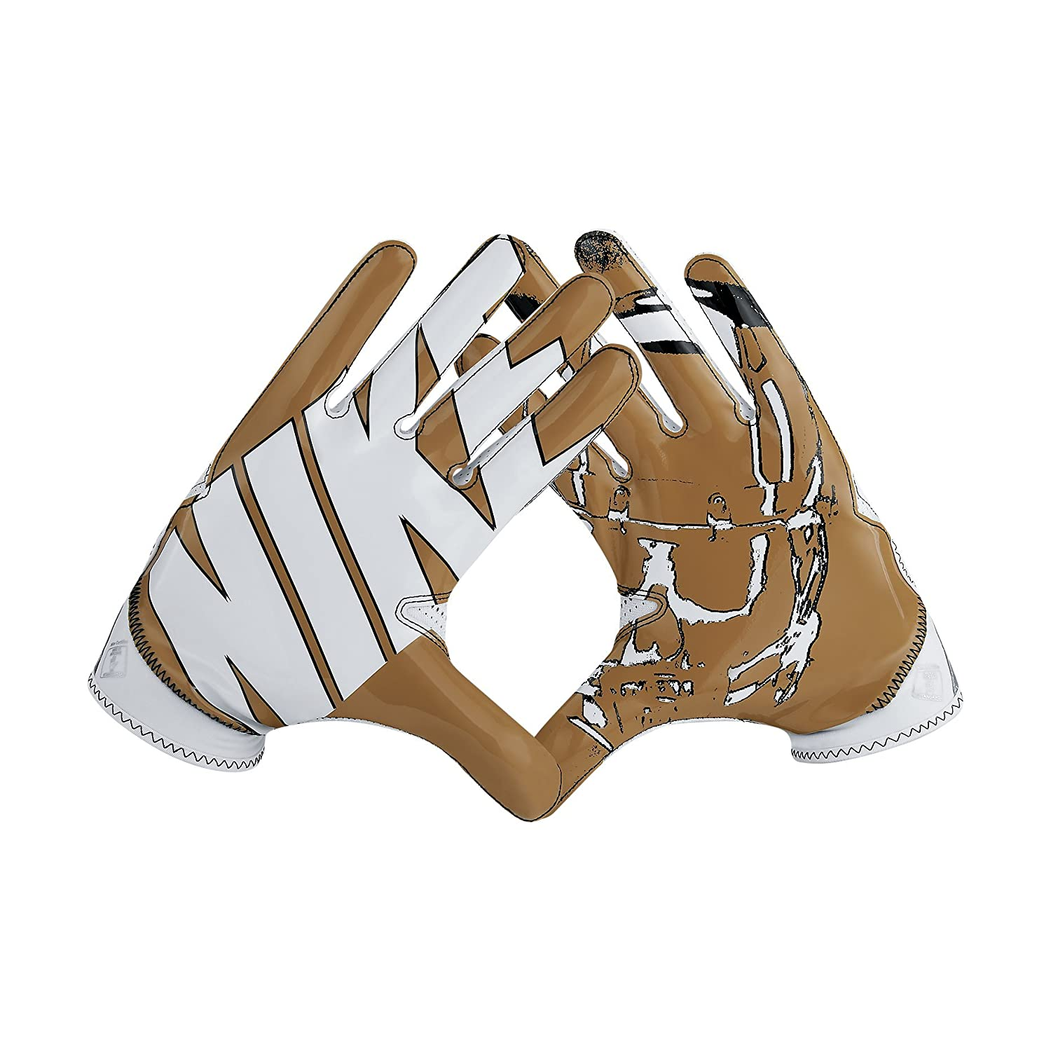 gold football gloves