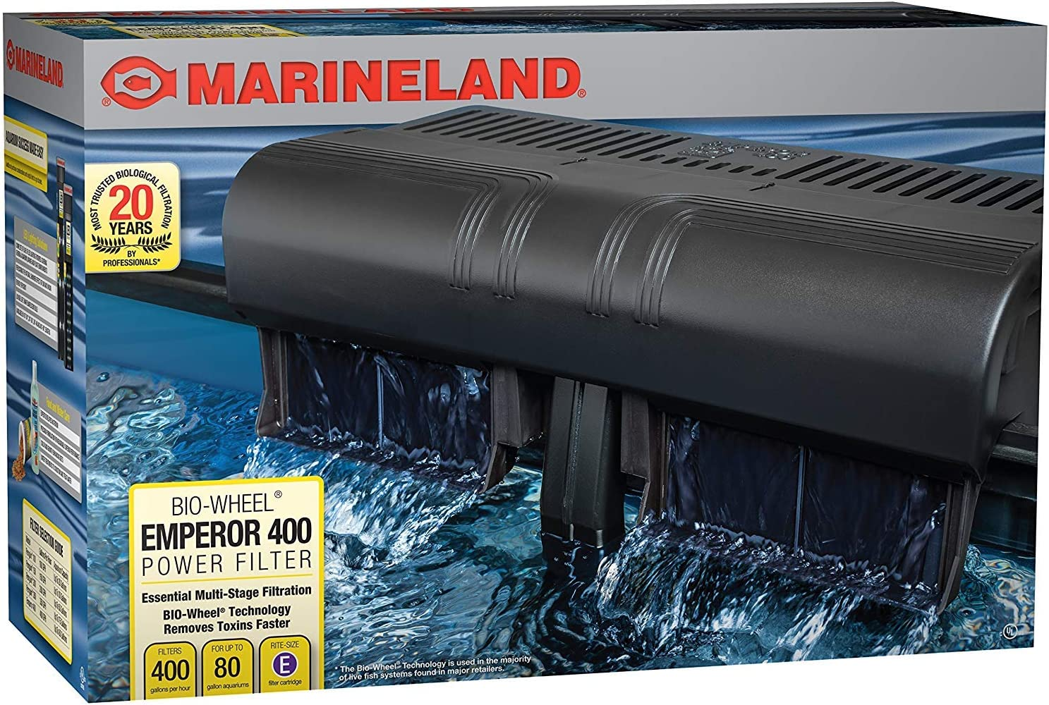 Marineland Emperor Bio-Wheel Power Filter