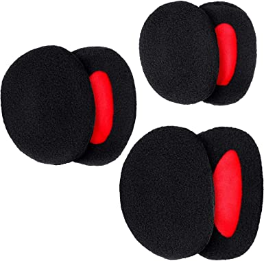 Bandless Ear Warmers Fleece Earmuffs Winter Ear Cover for Men Women