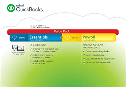QuickBooks Online Essentials 2016 Small Business Accounting with Payroll  (PC/Mac) [Old Version]